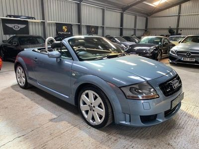 used Audi TT Roadster 3.2 (250ps) 4X4 quattro 2d 3189cc DSG PRIVATE PLATE INCLUDED