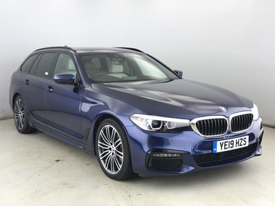 used BMW 520 5 SERIES 2019 Chester 2.0 d M Sport Touring 5dr Diesel Auto (s/s) (190 ps)