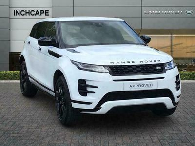 used Land Rover Range Rover evoque HATCHBACK 2.0 P300 R-Dynamic HSE 5dr Auto