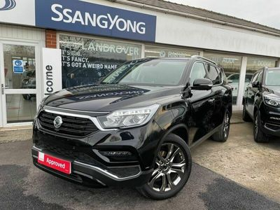 used Ssangyong Rexton 2.2D Ultimate T-Tronic 4WD 5dr