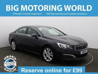 used Peugeot 508 BLUE HDI S/S ALLURE for sale | Big Motoring World
