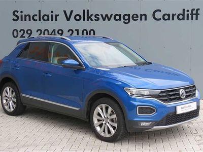used VW T-Roc T-Roc 20192017 1.6 TDI SEL 115PS Hatchback 2019