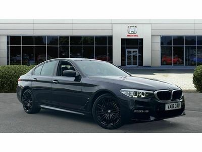 used BMW 530 5 Series e M Sport 4dr Auto Saloon 2018