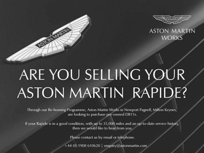 used Aston Martin Rapide S 6.0 V12 S T-TronicII 4dr