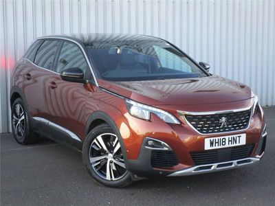 used Peugeot 3008 1.6 THP GT Line 5dr EAT6 Auto