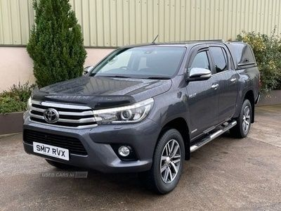 used Toyota HiLux 2.4 INVINCIBLE 4WD D-4D DCB 148 BHP