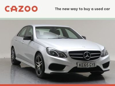 used Mercedes E220 E Class 2.1L AMG Night Edition BlueTECCDI