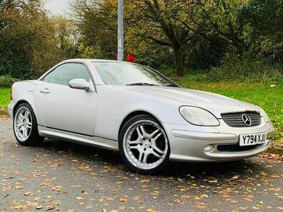 used Mercedes SLK230 SLK 2.3Kompressor Convertible 2dr Petrol Manual (241 g/km, 197 bhp)