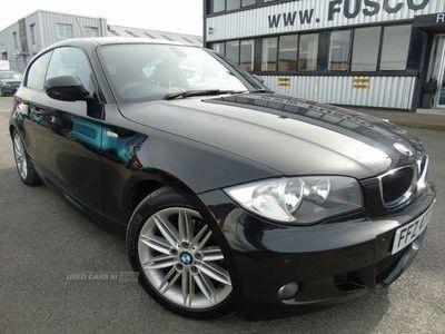 used BMW 118 1 SERIES 2.0 I M SPORT 3d 141 BHP - Platinum Warranty.