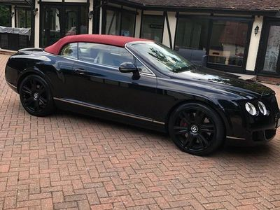 used Bentley Continental 6.0 W12 GTC 2dr