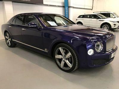 used Bentley Mulsanne PETROL AUTOMATIC SALOON 4 DOORS