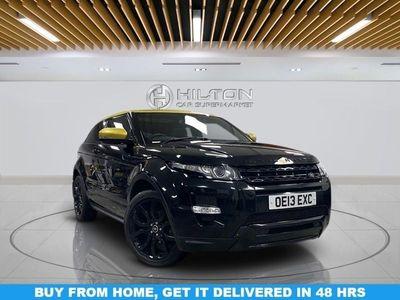 used Land Rover Range Rover evoque 2.2 SD4 DYNAMIC LUX 3d 190 BHP Auto 3-Door
