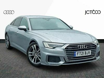 used Audi A6 A6S line 40 TDI quattro 204 PS S tronic diesel saloon