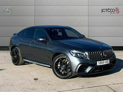 used Mercedes GLC63 AMG GLC Coupe4Matic Premium 5dr 9G-Tronic