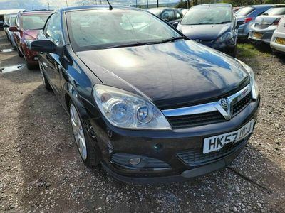 used Vauxhall Astra Cabriolet 1.8 i Exclusiv Black Twin Top 2dr