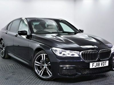 used BMW 730 7 Series 3.0 d M Sport Saloon 4dr Diesel Auto xDrive (s/s) (265 ps) Saloon 2018