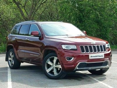 used Jeep Grand Cherokee 3.0 CRD Overland 5dr Auto [Start Stop]