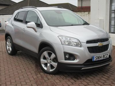 used Chevrolet Trax VCDi 130 AWD Start-Stop LT 1.7 5dr