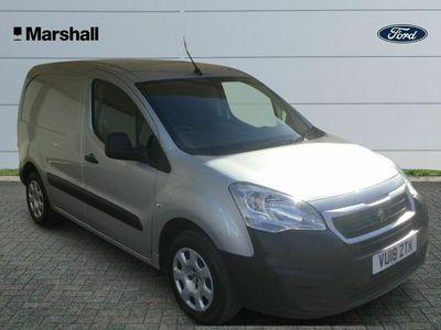 used Peugeot Partner 850 1.6 BlueHDi 100 Professional Van [non SS]