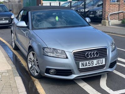 used Audi A3 Cabriolet 1.6 TDI S line 2dr