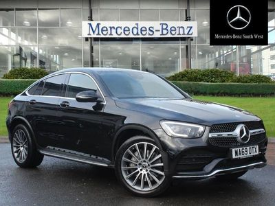 used Mercedes E300 GLC Coupe Glc D 4Matic Amg Line Premium 5Dr 9G-Tronic