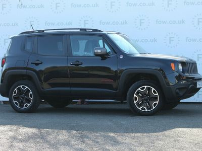 used Jeep Renegade HATCHBACK SPECIAL EDITION 2.0 Multijet Trailhawk 5dr 4WD Auto