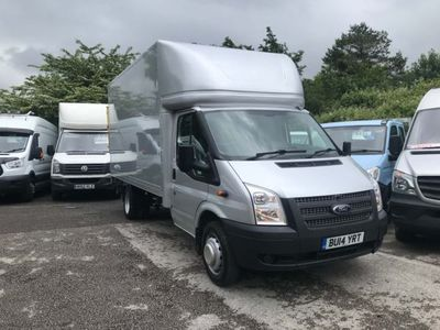 used Ford Transit 2.2TDCI 350 LWB LUTONDIESEL (EU5) SILVER, 2014, not known, 80000 miles.
