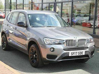 used BMW X3 xDrive30d SE 5dr Step Auto Sat Nav Leather Black Alloys 3.0