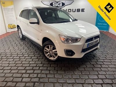 used Mitsubishi ASX 2.3 DI-D 4 5d 147 BHP 5-Door FREE DELIVERY+COVID SANITISED