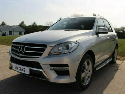 used Mercedes ML350 M-Class 3.0BLUETEC AMG SPORT 5d 258 BHP