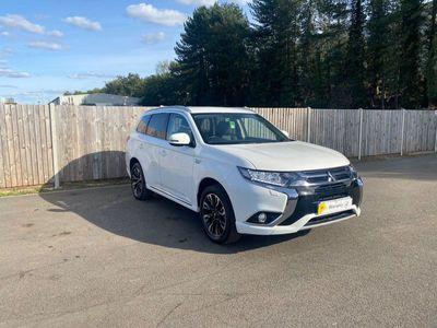 used Mitsubishi Outlander 2.0h 12kWh Juro CVT 4WD (s/s) 5dr