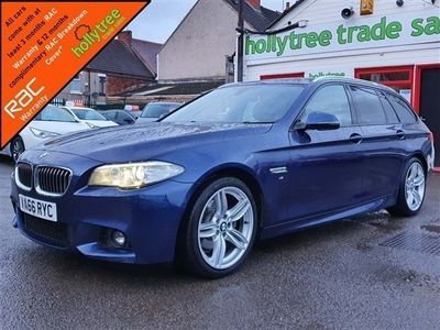 used BMW 520 5 Series 2.0 d M Sport Touring 5dr
