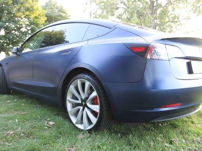 used Tesla Model 3 Dual Motor Performance Auto 4WDE 4dr (Performance Upgrade)