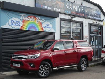 used Toyota HiLux 2.4 D-4D Invincible Double Cab Pickup 4WD EU6 4dr (TSS, 3.5t)