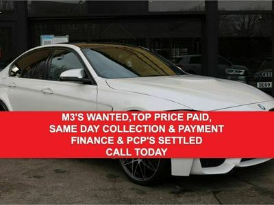 used BMW M3 3.0COMPETITION PACKAGE 4d 444 BHP