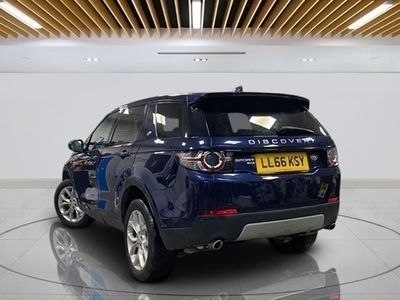 used Land Rover Discovery Sport 4x4 2.0 TD4 (180bhp) HSE 5d Auto