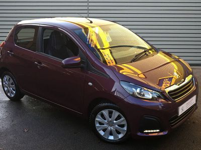 used Peugeot 108 1.0 Active 5Dr 2-Tronic