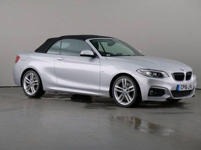 used BMW 228 2 Serie i Convertible 2.0 M Sport Nav 2dr