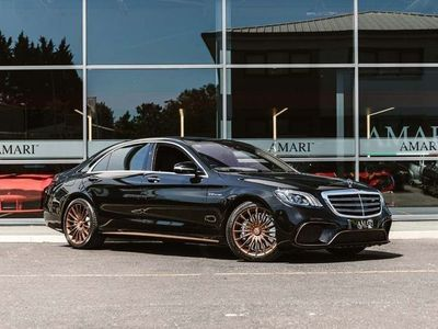 used Mercedes S65L AMG S Class 6.0V12 AMG SpdS+7GT (s/s) 4dr