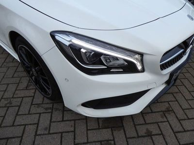 used Mercedes CLA220 CLA Class4MATIC AMG Line Night Edition Estate 2019