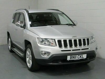 used Jeep Compass Limited Cvt 2.4 5dr