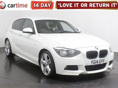 used BMW 114 1 Series 2.0 116D M SPORT 5dBHP Your dream car can become a reality with cartime's fantastic finance deals.