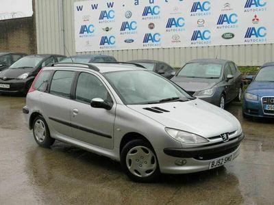 used Peugeot 206 SW 1.4 XT 5dr