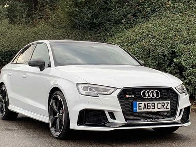 used Audi RS3 RS3Saloon Sport Edition 400 PS S tronic 2.5 4dr