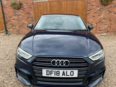 used Audi A3 1.5 TFSI Black Edition Saloon 4d
