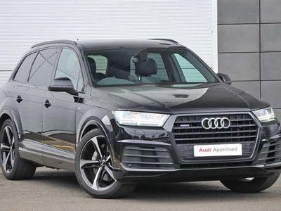 used Audi Q7 3.0 Tdi Quattro (286 Ps) Black Edition 50 diesel estate