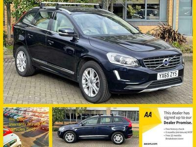 used Volvo XC60 2.4 D4 SE Lux Nav Geartronic AWD (s/s) 5dr