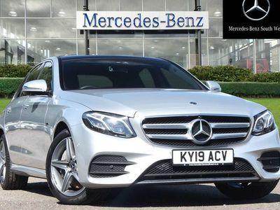 used Mercedes E300 E Class 2.013.5kWh AMG Line (Premium Plus) G-Tronic+ (s/s) 4dr