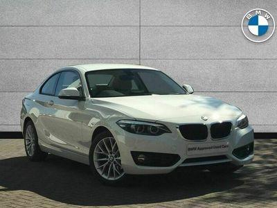used BMW 218 i SE Coupe