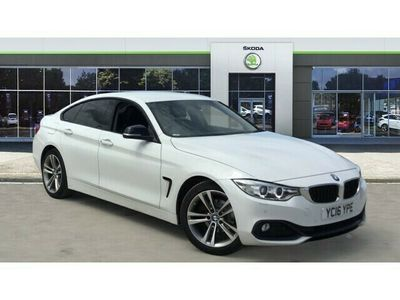 used BMW 418 4 Series[150] Sport 5dr [Business Media] Coupe 2016